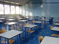 "Photo, ""Classroom,"" Thomas Favre-Bulle, March 10, 2005, Flickr"