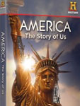 DVD case, America: The Story of US, web shop, history.com