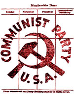 CPUSA membership card detail