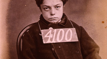 Photo, Prisoner 4100, 1872, The National Archives UK, Flickr Commons