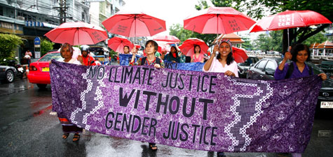 Photo, No climate justice without gender justice!, Mongkhonsawat Luengvorapant