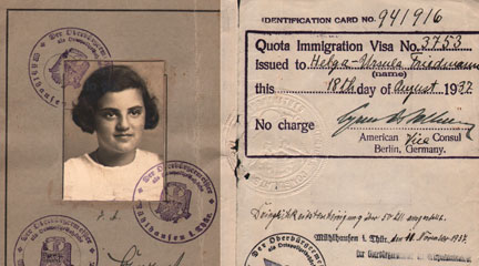 Passport, Of Helga Rome, Signed 1937, JWA Commons, Flickr Commons