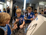"Photo, ""Challenger Learning Center - Communications,"" HMNS, Flickr, cc"