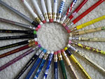 Photography, Circle of pencils, 27 Aug 2006, Sally Mahoney, Flickr CC