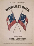engraving, Beauregard's march, c1861, LOC