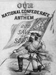 Litho., E. Crehen, Our national Confederate anthem, Library of Congress, 1862