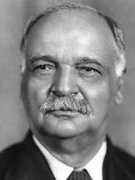 Charles Curtis, member of the Kaw Tribe and U.S. Vice President, 1929-1933