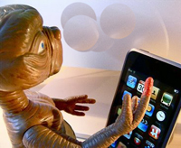 et phone home satire