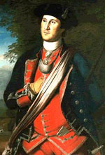 Earliest portrait of Washington, painted in 1772 by Charles Willson Peale