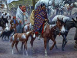 Painting, The Trail of Tears, Robert Lindneux, Woolaroc Museum
