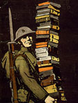 Poster, Books wanted for our men in camp..., c.1918-1923, C.B. Falls, LoC