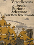 Poster, New Victor records of popular patriotic selections, 1917, LoC