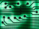 Photo, green circuit board II, April 5, 2008, BotheredByBees, Flickr