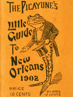 Cover of 1902 New Orleans guide-book