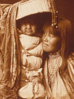 Apache mother and papoose, Library of Congress