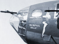 Nose art of the Memphis Belle, U. S. Air Force photo
