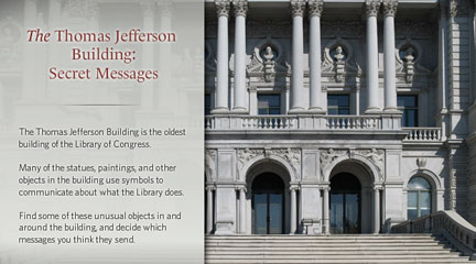 Detail, The Thomas Jefferson Building homepage