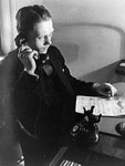 Photograph, Man at Telephone I, 1920-50, Theodor Horydczak, LOC