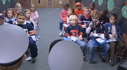 Screencapture, Five-Year-Olds Pilot Their Own Project Learning, May 9, 2007