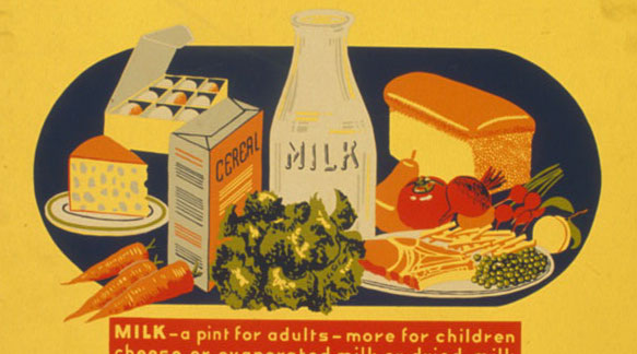 Poster, Eat these every day, Federal Art Project, c.1941-1943, LoC