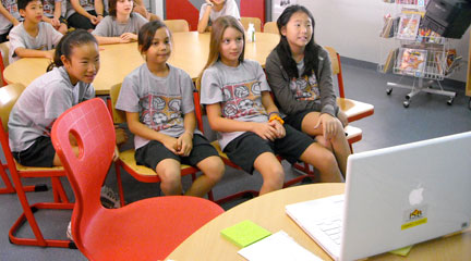 Photo, Flat Classroom Skype, November 29, 2008, superkimbo, Flickr