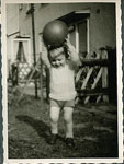photography, Jonathan with a ball, c. 1957 digitized 23 May 2010, Flickr CC