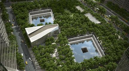 Rendering, 9/11 Memorial Landscape Architecture, 9/11 Memorial website
