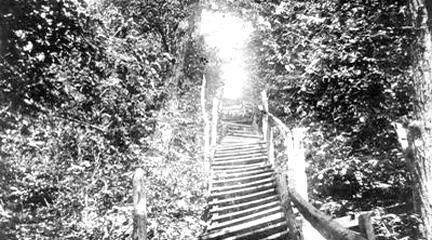 Photograph, Freedom Stairway, John Rankin House Small Picture Collection.