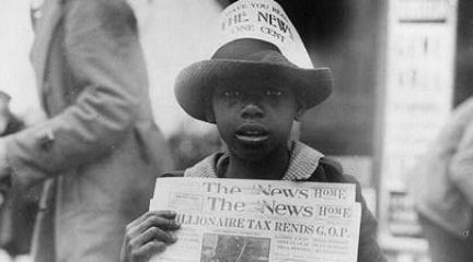 Photo, African American boy. . . , November 8, 1921, Library of Congress