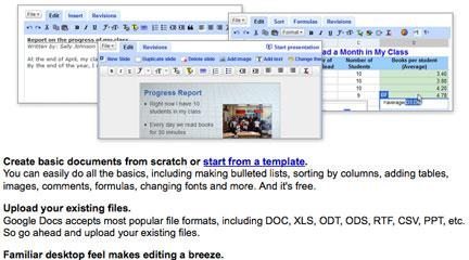 Screenshot, Tour, Google Docs