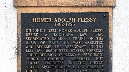 Photo, Homer Adolph Plessy, July 8, 2008, mattscoggin, Flickr