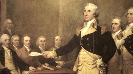 painting, George Washington, 1817, John Trumbull, Flickr CC
