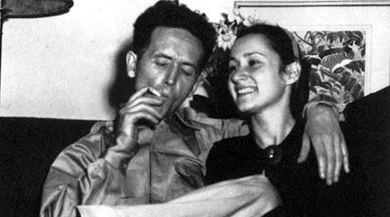 Photo. Woody Guthrie and Marjorie Mazia LOC