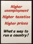 Impress, Acton, Conservative and Unionist Central Office, 1968, Higher unemploym