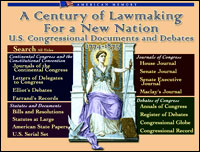 Image Century of Lawmaking for..: Congressional Documents and Debates, 1774-1873