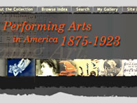 Image for Performing Arts in America, 1875-1923