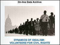 Image for Dynamics of Idealism:  Volunteers for Civil Rights, 1965-1982
