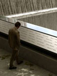 Rendering, 9/11 Memorial Names and Waterfall, 9/11 Memorial website