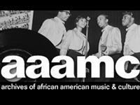 Logo, Archives of African American Music and Culture