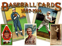 Logo, Baseball Cards from 1887-1914