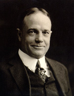 Portrait, Billy Sunday, 1916, Wheaton College