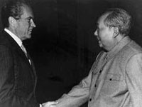 Photo, Nixon and Mao, 1972