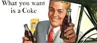 Image, Coca-Cola advertisement, 1952, Fifty Years of Coca-Cola Advertisements