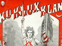 "Cover, ""The terrible mysteries of the Ku-Klux-Klan,"" Edward H. Dixon"