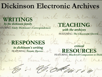 Image, Introductory graphic, Dickinson Electronic Archives