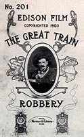 "Image, Poster for ""The Great Train Robbery,"" 1903, Edison Papers"