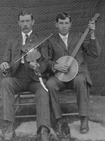 Photo, Josh and Henry Reed, 1903