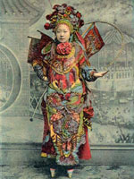 "Postcard, ""Chinese Actor Impersonating a Female Character,"" San Francisco"