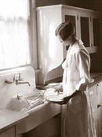 Photo, Dishes, Home Economics Archive: Research, Tradition, History
