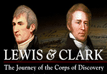 Logo, Lewis and Clark, The Journey of the Corps of Discovery